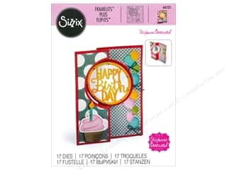Sizzix Dies Stephanie Barnard Framelits Card Flip It Circle