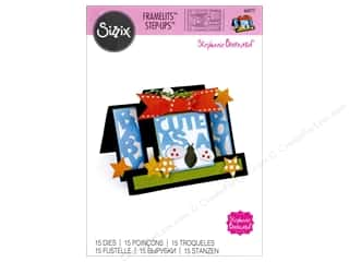 Sizzix Dies Stephanie Barnard Framelits Card Step Up Cute As A Bug