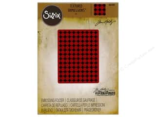 embossing folders: Sizzix Texture Fades Embossing Folders 1 pc. Plus Sign