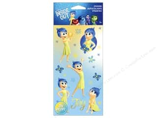 scrapbooking & paper crafts: EK Disney Sticker Inside Out Joy Flat