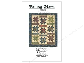 Clearance: Mountainpeek Creations Falling Stars Quilt Pattern