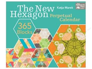 gifts & giftwrap: That Patchwork Place The New Hexagon Perpetual Calendar