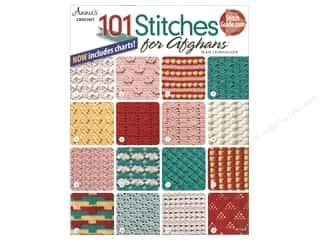 Bulky yarn: Annie's 101 Crochet Stitches For Afghans Book