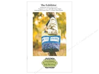 Tote Bags / Purses Patterns: Anything But Boring The Exhibitor Tote Bag Pattern