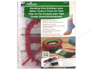 Projects & Kits: Clover Standing Oval Knitting Loom