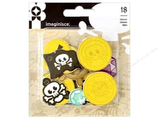 Imaginisce Party Me Hearty Foam Charm Pirate
