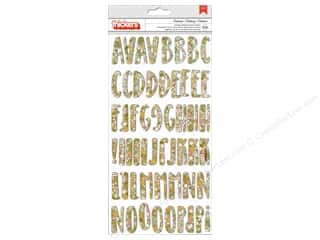Foam Letters: Pebbles Collection Spring Fling Thickers Sticker Chip Celebrate