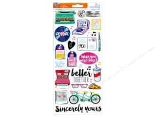 phrase stickers: American Crafts Stickers Amy Tangerine Better Together Accents & Phrase