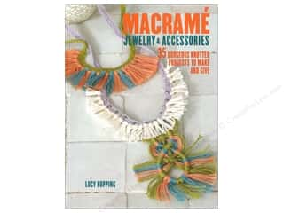 beading & jewelry making supplies: Cico Macrame Jewelry & Accessories Book