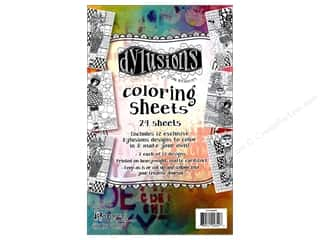Ranger Dylusions Colouring Sheets - Collection 1