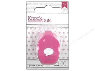 American Crafts Knock Outs Punch 3/8 in. Word Bubble