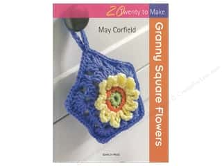 yarn: Search Press Twenty To Make Granny Square Flowers Book