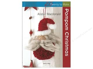 books & patterns: Search Press Twenty To Make Pompom Christmas Book