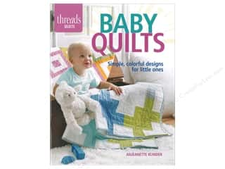 Taunton Press Thread Selects Baby Quilts Book