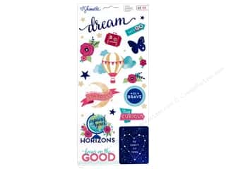 Caption Stickers / Frame Stickers: American Crafts Stickers Shimelle Starshine Accents & Phrase