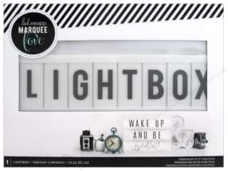 novelties: Heidi Swapp Battery Operated Lightbox White