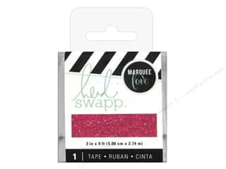 craft & hobbies: Heidi Swapp LightBox Tape 2 in. Pink Glitter