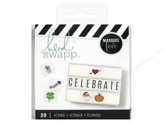 Heidi Swapp LightBox Inserts 20 pc. Holiday Icons