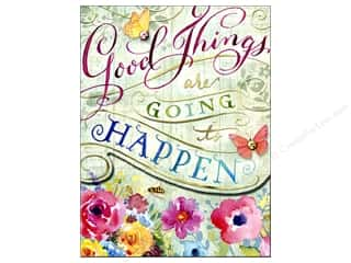 Clearance Punch Studio Decorative Magnet: Punch Studio Pocket Note Pad Words of Wisdom Good Things