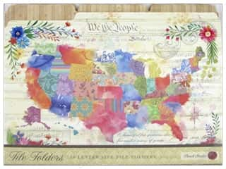 Punch Studio File Folder America The Beautiful 10 pc
