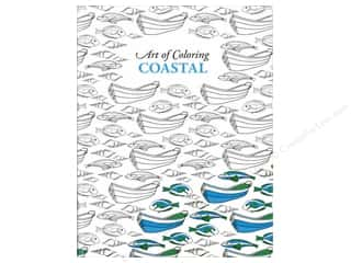 Leisure Arts Art of Coloring Coastal Coloring Book