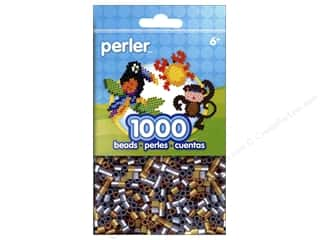 beading & jewelry making supplies: Perler Beads 1000 pc. Metallic Mix