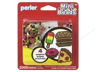 Perler Fused Bead Kit Mini Food 2000pc