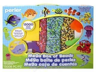 beading & jewelry making supplies: Perler Fused Bead Kit Mega Under The Sea 15000pc