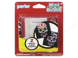 beading & jewelry making supplies: Perler Fused Bead Kit Mini Sugar Skulls 2000pc