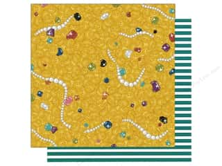 Imaginisce 12 x 12 in. Paper Party Me Hearty Buried Treasure (25 sheets)