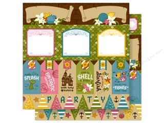 Imaginisce 12 x 12 in. Paper Party Me Hearty Shell A Brate
