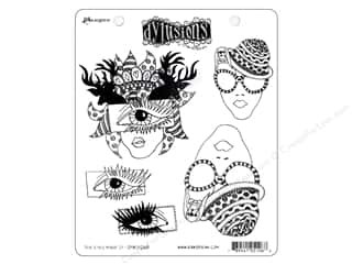 Holiday Sale Stampendous Cling Rubber Stamp: Ranger Stamp Dylusions Cling The Eyes Have It