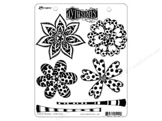 stamps: Ranger Stamp Dylusions Cling Doodle Blooms