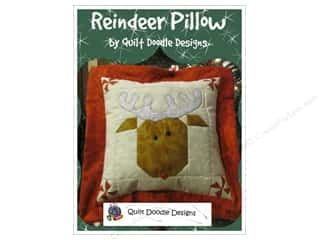 Clearance: Quilt Doodle Designs Reindeer Pillow Pattern