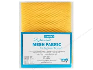 By Annie Lightweight Mesh Fabric 18 x 54 in. Dandelion