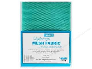 By Annie Lightweight Mesh Fabric 18 x 54 in. Turquoise