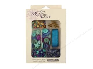 craft & hobbies: Buttons Galore 28 Lilac Lane Embellishment Kit Party On