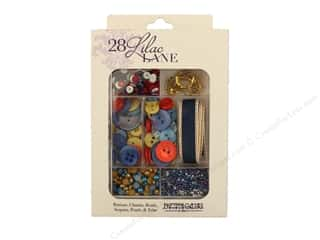 craft & hobbies: Buttons Galore 28 Lilac Lane Embellishment Kit Adventure At Sea