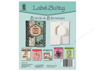 Hot Off The Press Card Kit Swing Label