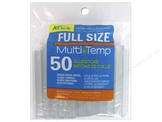 MultiTemp Hot Glue Stick 4 in. 50 pc. by Adhesive Technology