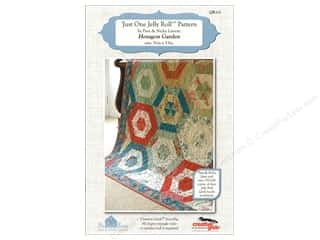 books & patterns: The Quilt Room Hexagon Garden Pattern