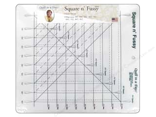 Clearance: Quilt In A Day Ruler Square n' Fussy Cut