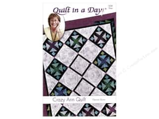 books & patterns: Quilt In A Day Crazy Ann Quilt Pattern