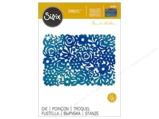 die cutting machines: Sizzix Thinlits Die 1 pc. Floral Panel