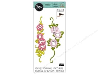 Sizzix Dies Sharyn Sowell Thinlits Rose Border