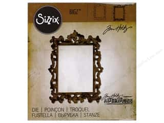 die cutting machines: Sizzix Dies Tim Holtz Bigz Ornate Frame 2