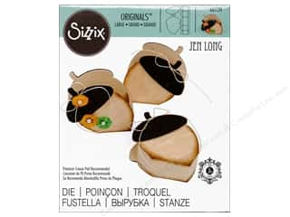 Sizzix: Sizzix Dies Fox Tales Jen Long Originals Box Acorn