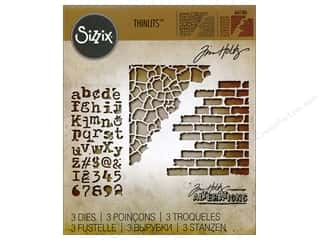 Sizzix Tim Holtz Thinlits Die Set 3 pc. Mixed Media #3
