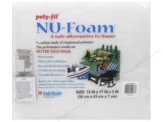 Fairfield Nu Foam Polyester Pad 15 x 17 x 3 in.