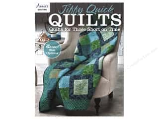Clearance: Jiffy Quick Quilts: Quilts for the Time Challenged Book by Annie's